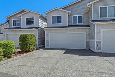 Edmonds Condo/Townhouse For Sale: 14607 52nd Ave W #602