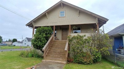 Grays Harbor County Single Family Home For Sale: 1901 Morgan St