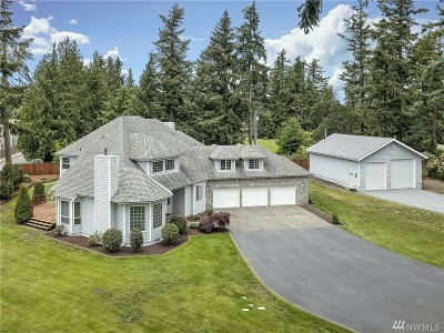 Spanaway Single Family Home For Sale: 2014 183rd St Ct E
