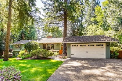 Sammamish Single Family Home For Sale: 2501 Sahalee Dr W