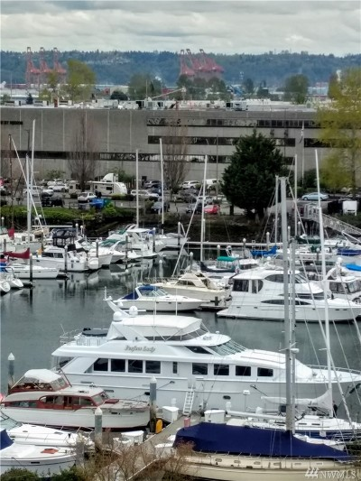 Tacoma Condo/Townhouse For Sale: 1705 Dock St #535