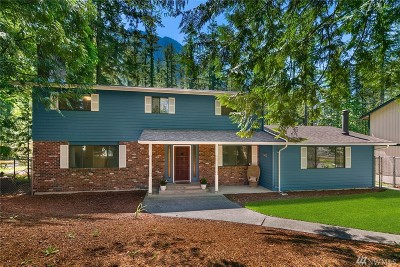 Snoqualmie Single Family Home For Sale: 44519 SE 72nd St