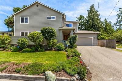 Shoreline Single Family Home For Sale: 19514 15th Ave NW