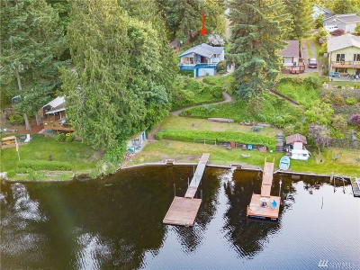 Olympia Single Family Home For Sale: 4604 SE Rehklau Rd