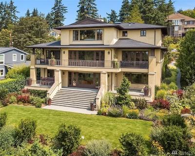 Bellevue Single Family Home For Sale: 9501 NE 1st St