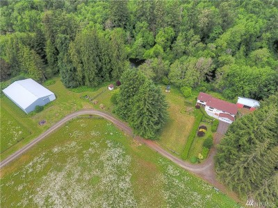 Grays Harbor County Single Family Home For Sale: 7475 Us Highway 12
