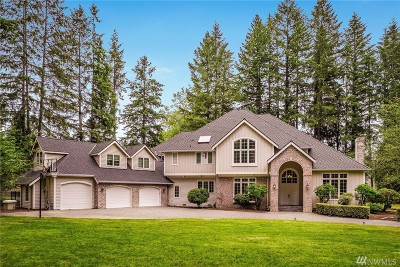 Woodinville Single Family Home For Sale: 14246 Bear Creek Rd NE