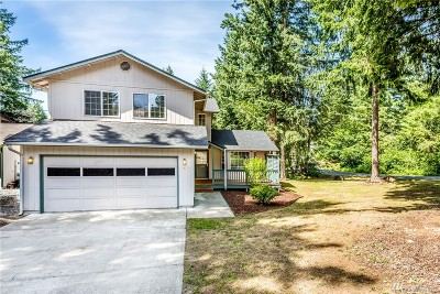 Yelm Single Family Home Pending Inspection: 17603 Pond View Ct SE