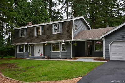 Woodinville Single Family Home For Sale: 16529 NE 180th Place