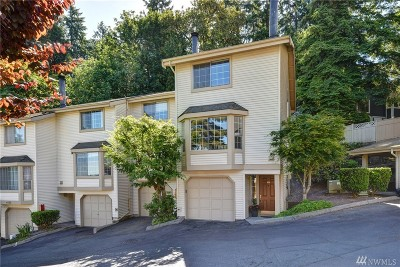 Bellevue Condo/Townhouse For Sale: 4152 178th Lane SE #5