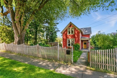 Bellingham Single Family Home Sold: 1421 Iron St