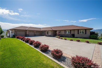 Chelan County Single Family Home For Sale: 114 E Mountain Brook Lane