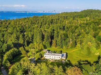 Bainbridge Island Single Family Home For Sale: 10000 NE Kitsap St