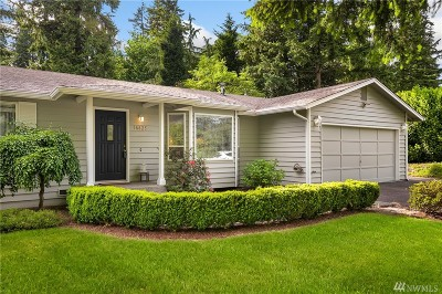 Woodinville Single Family Home For Sale: 18825 136th Ave NE