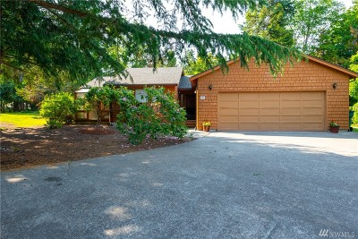 La Conner WA Single Family Home For Sale: $269,000
