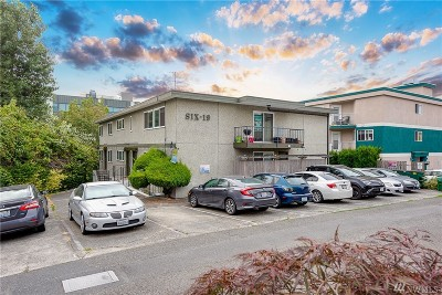 Seattle Multi Family Home For Sale: 619 Prospect St