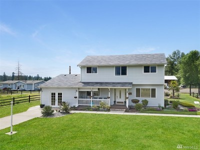 Thurston County Single Family Home For Sale: 13311 Bald Hill Rd SE