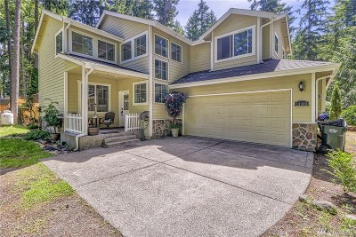 Yelm Single Family Home Pending Inspection: 18348 Parkcrest Ct SE
