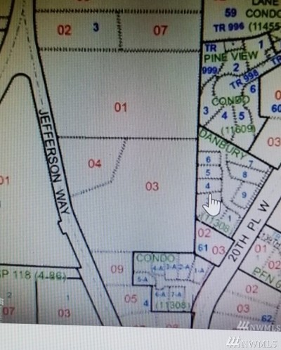 Lynnwood Residential Lots & Land For Sale: 13727 Jefferson Way