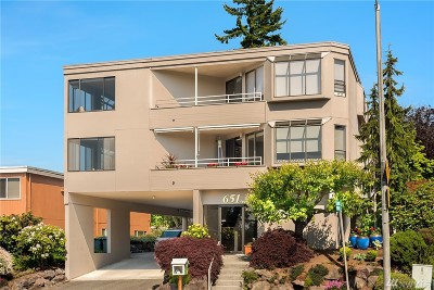 Edmonds Condo/Townhouse For Sale: 651 5th Ave S #1