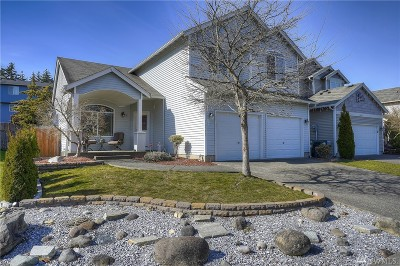 Puyallup Single Family Home Contingent: 16310 88th Ave E