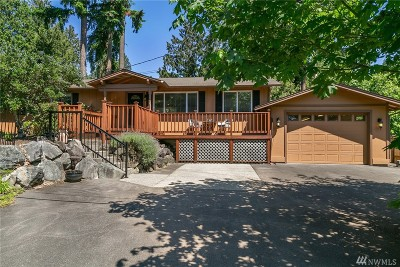Sammamish Single Family Home For Sale: 808 207th Place NE