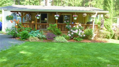 Mason County Single Family Home For Sale: 20 N Buckhorn Way