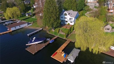 Kirkland Single Family Home For Sale: 11525 Holmes Point Dr NE