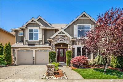 Sammamish Single Family Home For Sale: 1621 208th Place SE