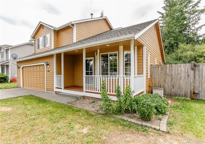 Yelm Single Family Home Pending: 15637 92nd Wy SE