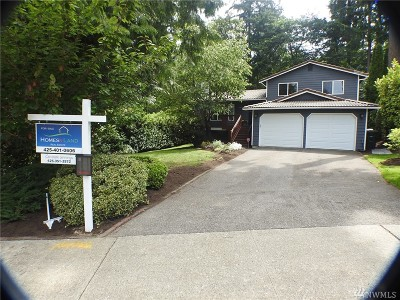Bellevue Single Family Home For Sale: 16730 SE 40th Place