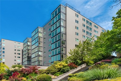 Seattle Condo/Townhouse For Sale: 308 E Republican St #411