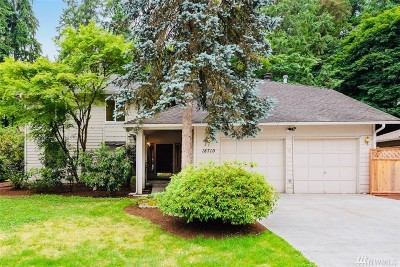 Issaquah Single Family Home For Sale: 18719 SE 45th St SE