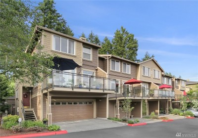 Issaquah Condo/Townhouse For Sale: 23300 SE Black Nugget Rd #H3