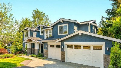 Mercer Island Single Family Home For Sale: 8243 SE 26th St