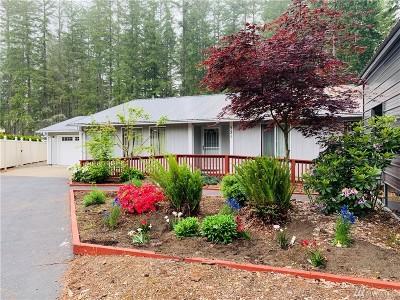 Hoodsport Single Family Home For Sale: 521 N Kokanee Ridge Dr