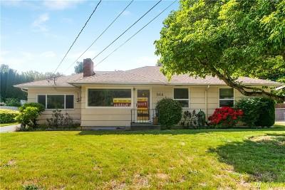 University Place Single Family Home For Sale: 3410 Vista Place W