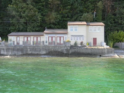 Mason County Single Family Home Pending Inspection: 7401 NE North Shore Rd