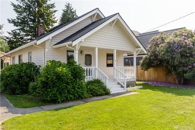 Sedro Woolley Single Family Home Contingent: 1021 Bennett Street