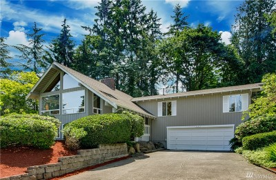 Redmond Single Family Home For Sale: 3208 176th Ct NE