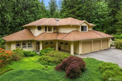 Woodinville Single Family Home For Sale: 20255 230th Ave NE