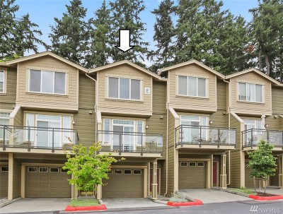 Issaquah Condo/Townhouse For Sale: 23300 SE Black Nugget Rd #E-3