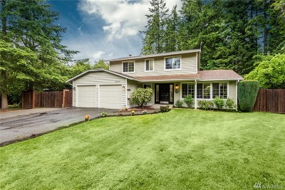 Sammamish Single Family Home For Sale: 22048 SE 33rd St