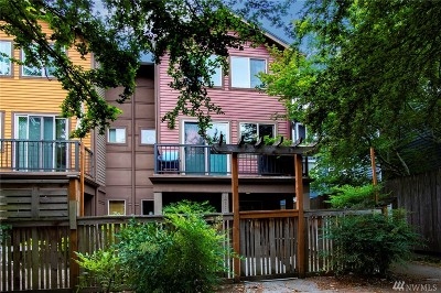 Seattle Single Family Home For Sale: 7411 4th Ave NE #B