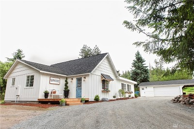 Eatonville Single Family Home For Sale: 38015 Mountain Hwy E