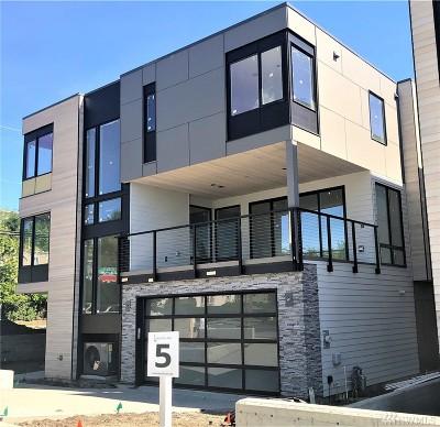 Kirkland Single Family Home For Sale: 10135 NE 60th St (Lot 5)