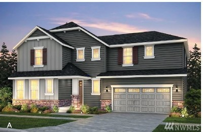 Duvall Single Family Home For Sale: 29004 NE 156th St (Lot 70)