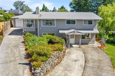 Bellevue Single Family Home For Sale: 1656 172nd Ave NE