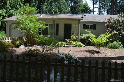 Yelm Single Family Home Pending Inspection: 21640 N Clear Lake Blvd SE