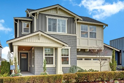 Sammamish Single Family Home For Sale: 1444 242nd Ave NE #Lot40